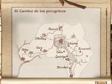 Mapa ermitas de ruta