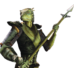 Morrowind - Manual - Argonian