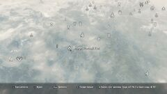 Peschera otvesnyi utyos map