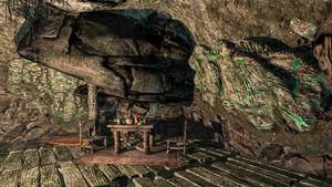 Мор-Казгур - шахта - спальник и еда