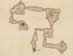 Пещера Ежевичная Поляна. План