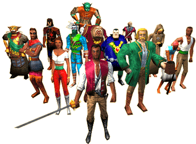All Characters Redguard