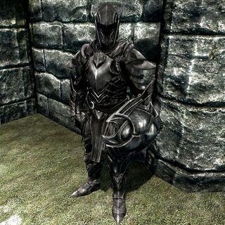Ebonowa zbroja
