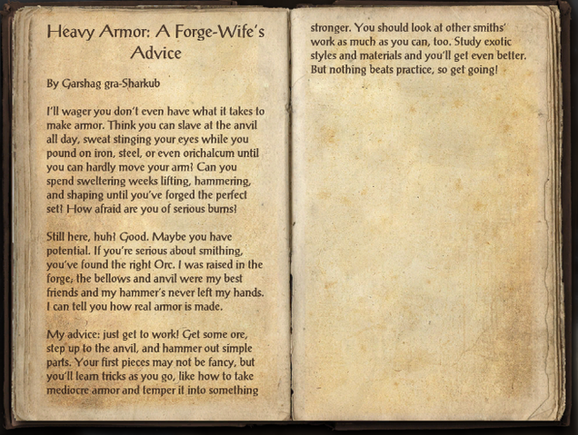File:Heavy Armor Forging - A Forge-Wife's Advice.png