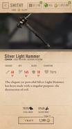 Silver Light Hammer