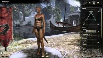 The Elder Scrolls Online Character Creation Trailer