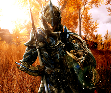 Valiant elven soldier by lordhayabusa357-d7i6k7z