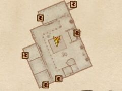 Замок Скинград - Зал для приёмов