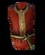 Красная шёлковая роба
