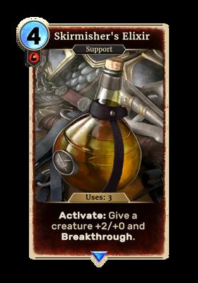 Card-Skirmisher's Elixir