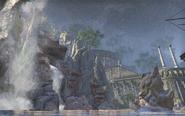 Colossal Aldmeri Grotto Waterfall