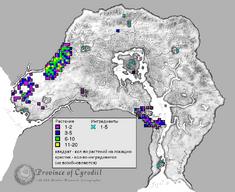 Мандрагора карта