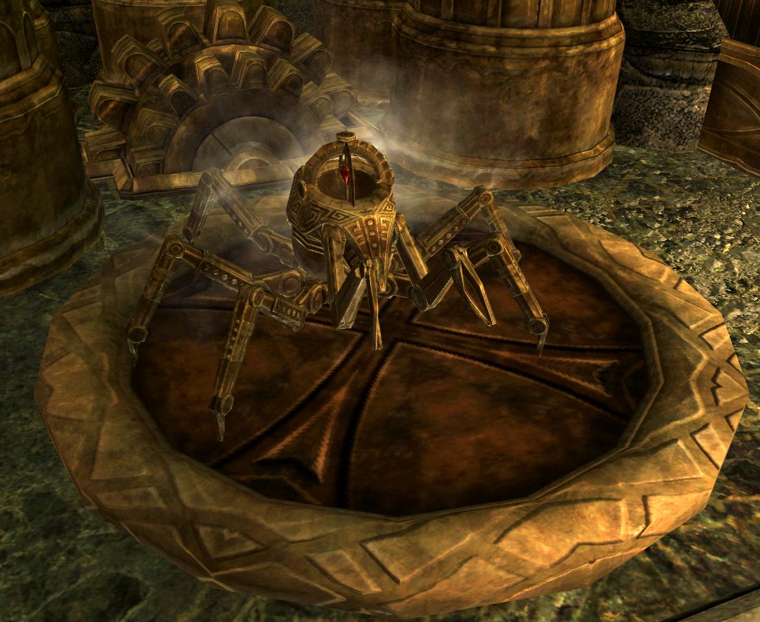 Steadfast Dwarven Spider | Elder Scrolls | FANDOM powered by