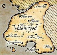 Валенвуд (карта)