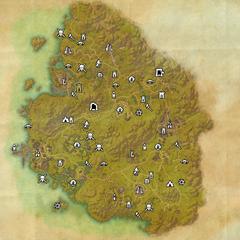 Гриншейд-Дорожное святилище Приморского святилища-Карта