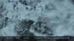 Гробница Валока. Карта