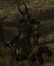 Мертвый драугр-главный военачальник
