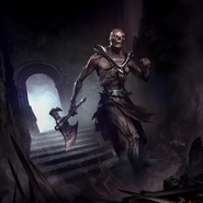 Hulking Draugr card art