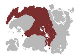 Mappa impero mede