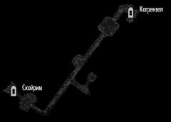 Пещера Каменный ручей (план)
