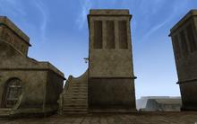 Север западной сторожевой башни