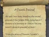A Death Desired
