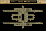 Arena Waistworks - Interior Map - Morrowind