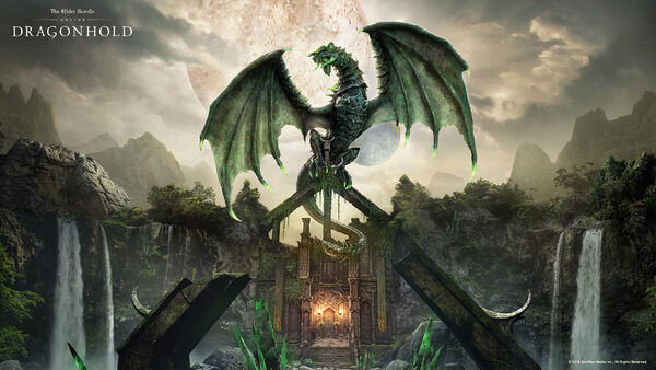 Dragonhold Key Art