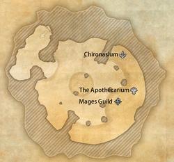 Elden Tree Mages legend map (online)