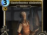 Gastrónomo siniestro