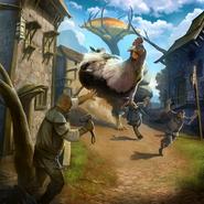 Giant Chicken card art