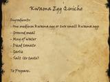 Kwama Egg Quiche (Book)