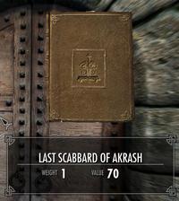 Last scabbard