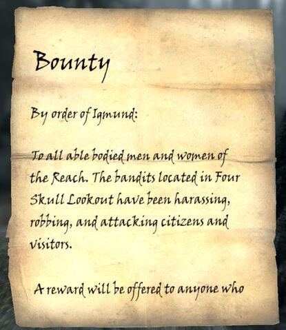 File:Skyrim bountynote Four Skull Lookout 1.jpg