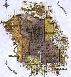 Vvardenfell Regional Map