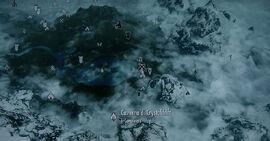 Caverna di Crystaldrift - Mappa esterna