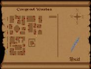 Corgrad Wastes full map