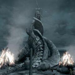 Kaplica Boethiah z gry The Elder Scrolls V: Skyrim