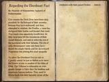 Regarding the Ebonheart Pact