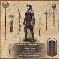 Savage Werewolf set - Elder Scrolls Online