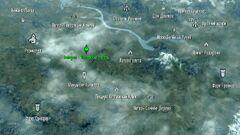 Вайтран - имперский лагерь - карта