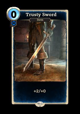 Верный меч (Card)