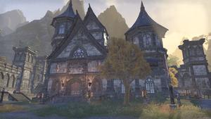 Здание в крепости Пламенного Меча 1