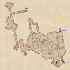 Пещера Полевой дом - план 3