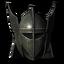 Стальной пластинчатый шлем