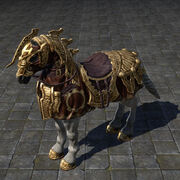 Dwarven Horse Двемерская лошадь