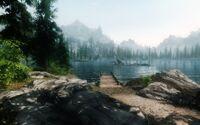 Lago Ilinalta embarcadero
