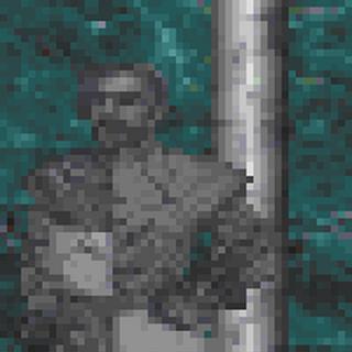 Posąg Zenithara z gry The Elder Scrolls II: Daggerfall