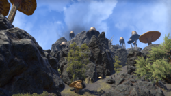 Гора Канд ESOM
