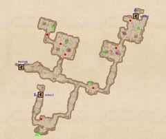 Покинутая шахта (1). План